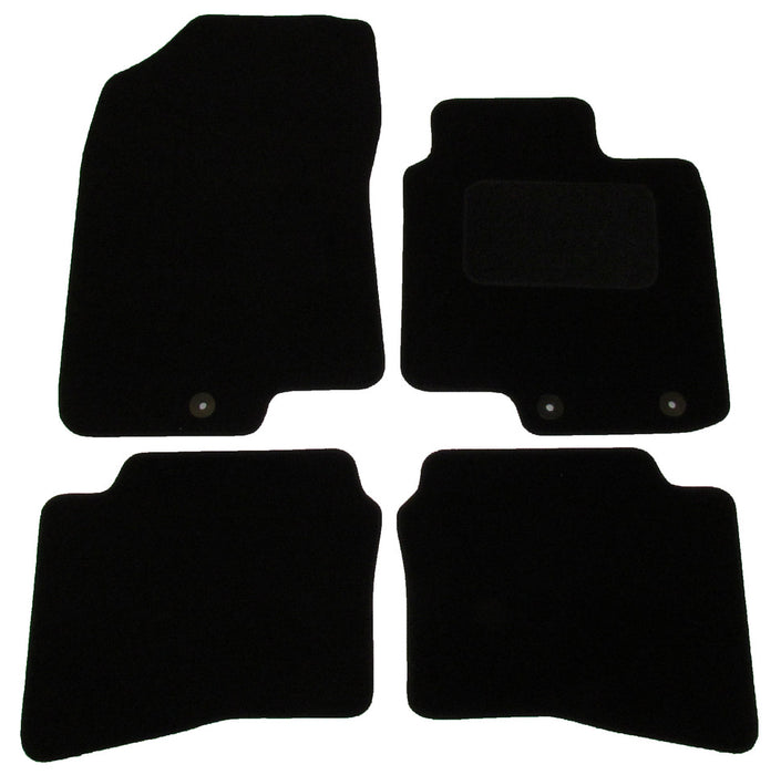 Exact Fit Tailored Car Mats Hyundai I20 [With 3 Clips] (2015-Onwards)