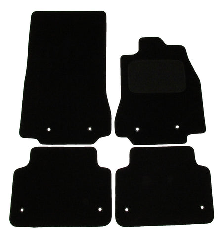 Exact Fit Tailored Car Mats Jaguar XF [With 8 Clips] (2014-Onwards)