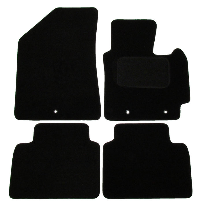 Exact Fit Tailored Car Mats Kia Soul [With 3 Clips] (2014-Onwards)