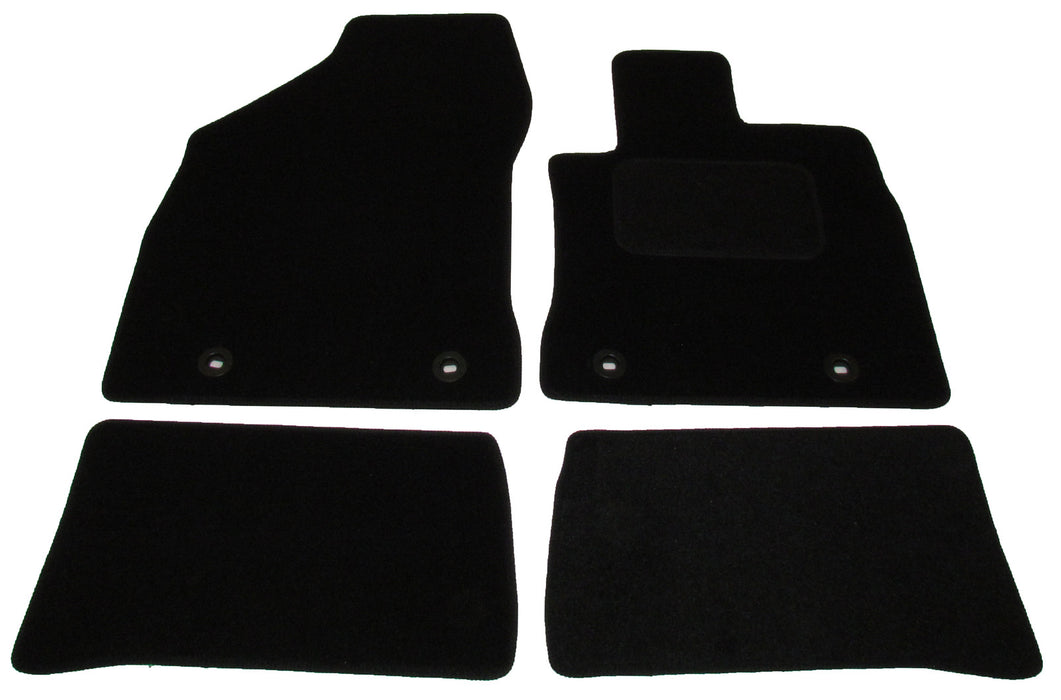 Exact Fit Tailored Car Mats Lexus CT200H [With 4 Clips] (2014-Onwards)