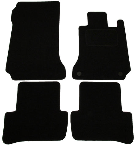 Exact Fit Tailored Car Mats Mercedes C Class (2007-2014)