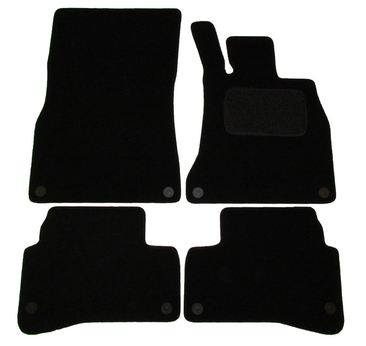 Exact Fit Tailored Car Mats Mercedes S Class SWB [With 8 Clips] (2013-Onwards)