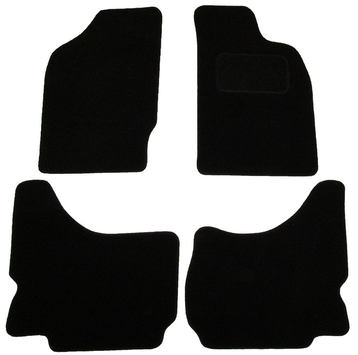 Exact Fit Tailored Car Mats Mitsubishi L200 [Double Cab] (1986-2006)