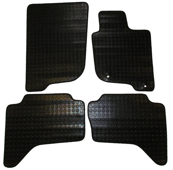 Exact Fit Rubber Tailored Car Mats Mitsubishi L200 [Double Cab] (2006-Onwards)