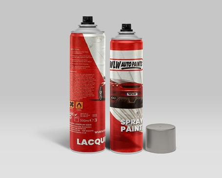 FORD TRANSIT (1976-1990) SIGNAL RED Code: XSC1383A Aerosol Spray Paint Chip/Scratch Repair