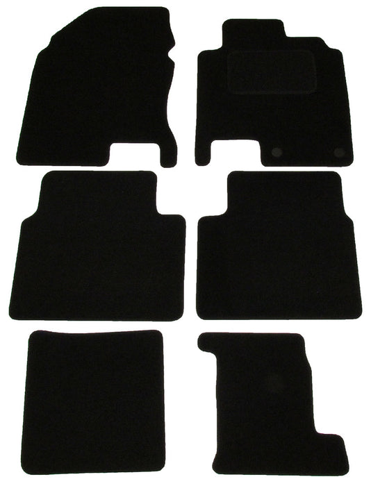 Exact Fit Tailored Car Mats Nissan Qashqai (2010-2013)