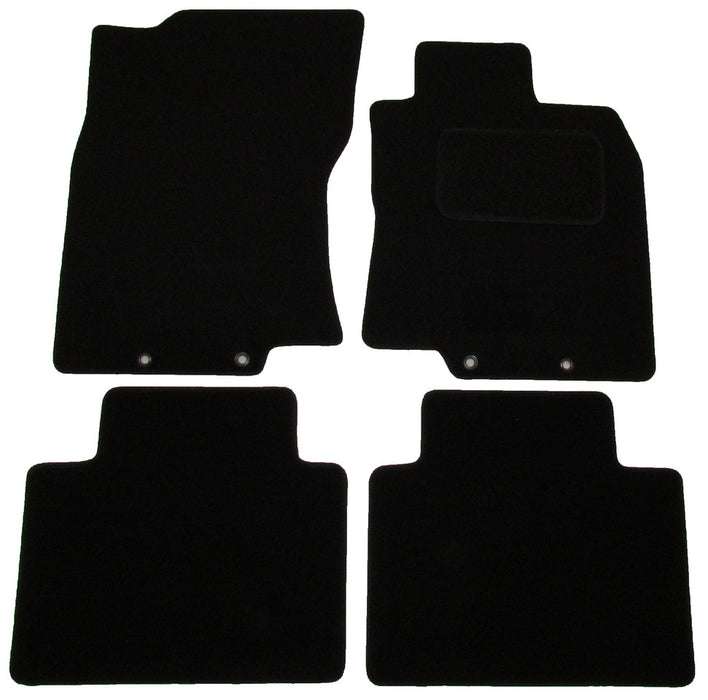 Exact Fit Tailored Car Mats Nissan X Trail [With 4 Clips] (2014-Onwards)