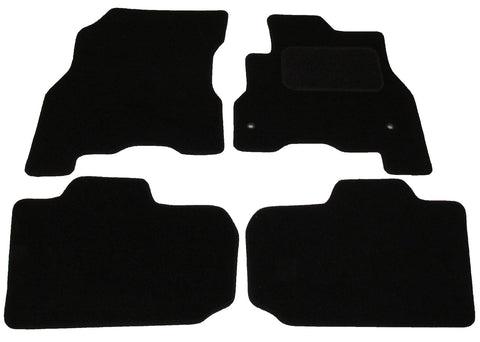 Exact Fit Tailored Car Mats Nissan Leaf [With 2 Clips](2014 Onwards) (2014-Onwards)