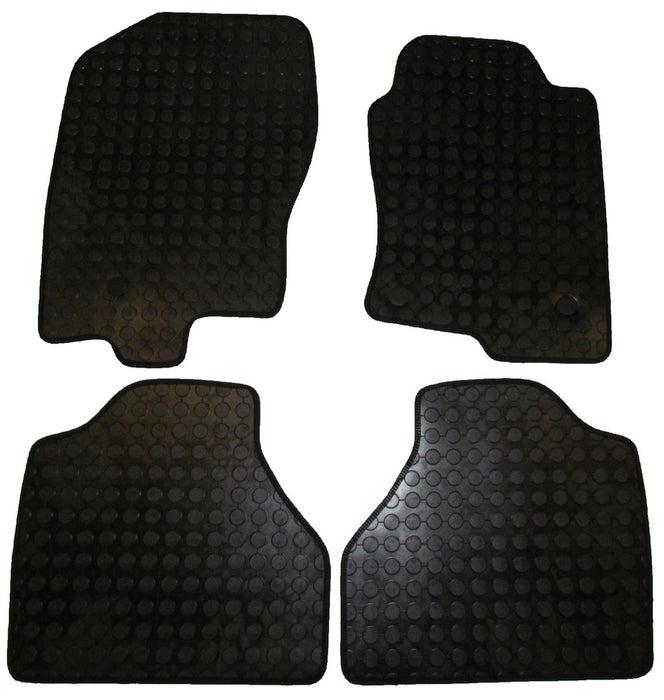 Exact Fit Rubber Tailored Car Mats Nissan Navara (2010-Onwards)