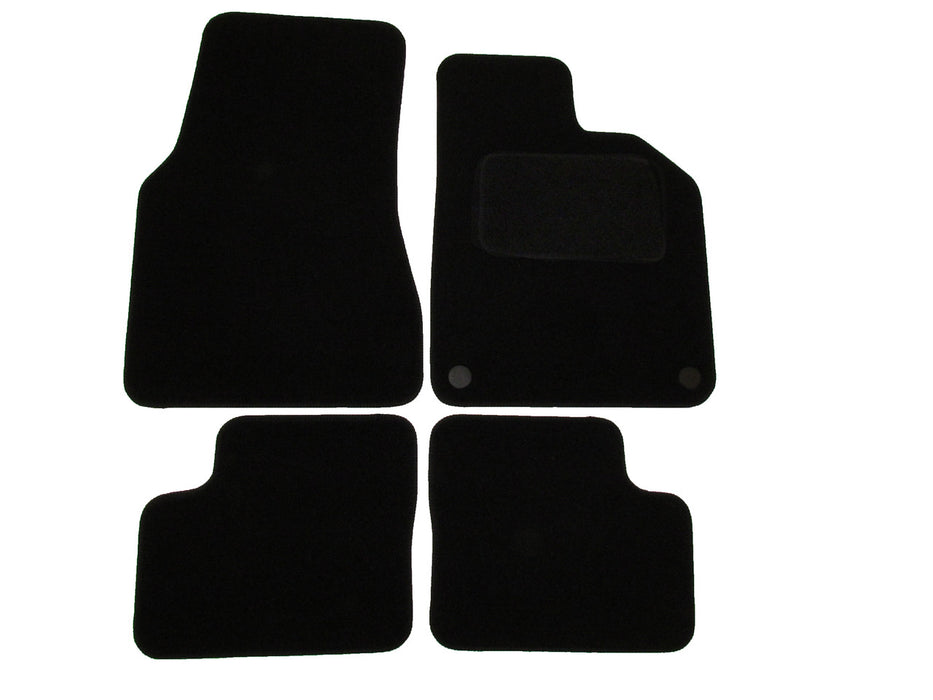 Exact Fit Tailored Car Mats Renault Twingo [With 2 Clips] (2014-Onwards)