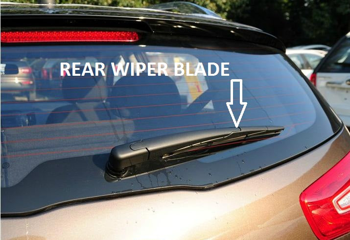 Fiat Multipla Mk1 2000-2006 Xtremeauto® Rear Window Windscreen Replacement Wiper Blades