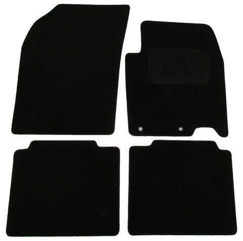 Exact Fit Tailored Car Mats Suzuki SX4 [With 2 Clips] (2013-Onwards)