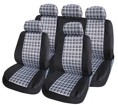 Car Seat Covers Protectors Universal washable ready Dog black white front rear - Xtremeautoaccessories