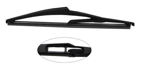 ABARTH 500 Hatchback 2015-2016 XtremeAuto® Rear Window Windscreen Replacement Wiper Blades