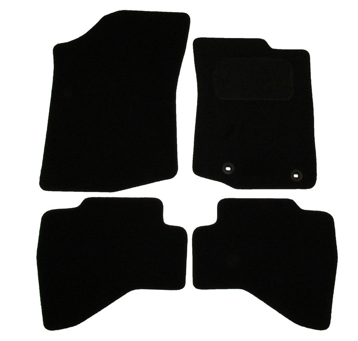 Exact Fit Tailored Car Mats Toyota Aygo [With 2 New Clips] (2014-Onwards)