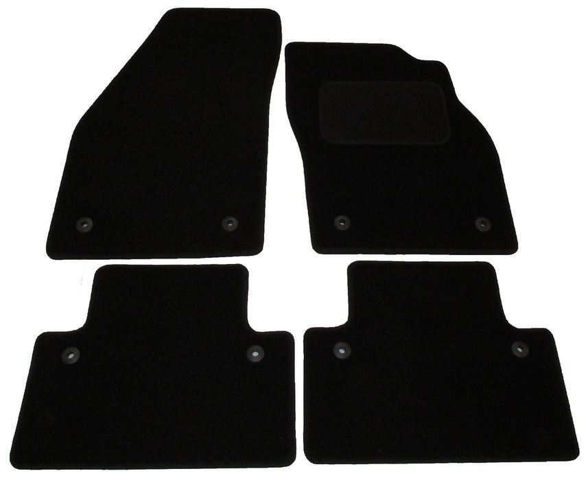 Exact Fit Tailored Car Mats Volvo C30 [Hatchback with Clips] (2006-2014)