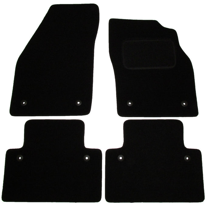 Exact Fit Tailored Car Mats Volvo S40 & V40 [With Clips] (2004-2012)