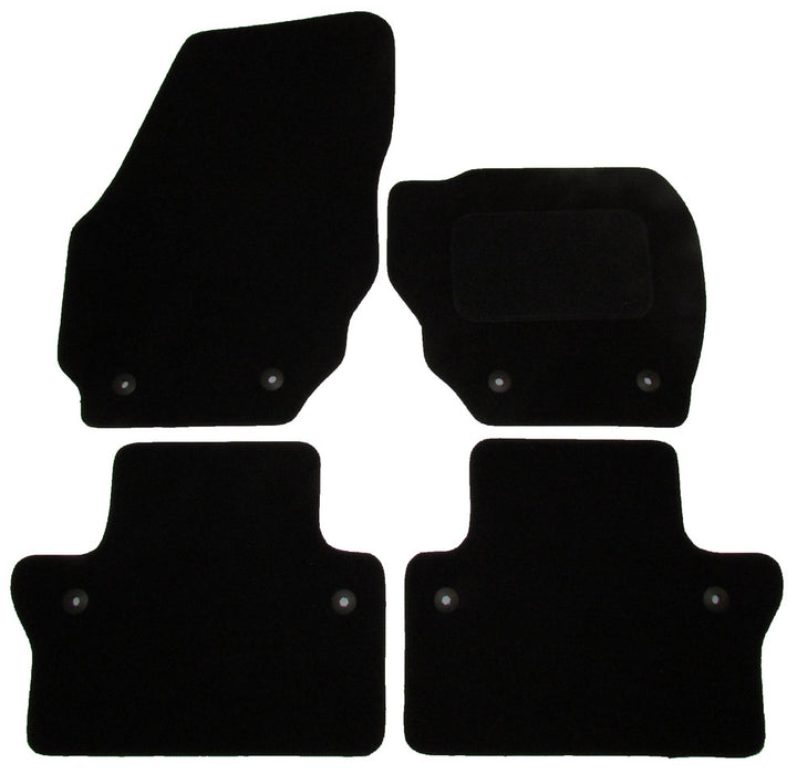 Exact Fit Tailored Car Mats Volvo V70 [Automatic] (2008-Onwards)