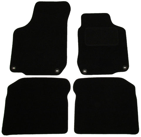 Exact Fit Tailored Car Mats VW Golf Mk4 [4 clips] & Beetle (1999-2005)