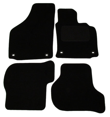 Exact Fit Tailored Car Mats VW Golf mk5 & TDi Oval [With Clips] (2004-2007)