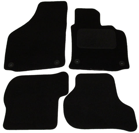 Exact Fit Tailored Car Mats VW Golf mk5 [Round Clips] (2007-2008)