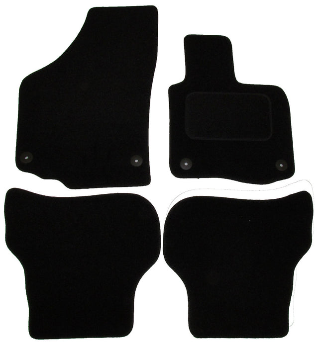 Exact Fit Tailored Car Mats VW Golf Plus [Round Clips] (2007-2010)