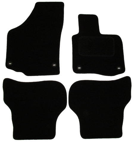 Exact Fit Tailored Car Mats VW Golf Plus [Oval Clips] (2005-2007)