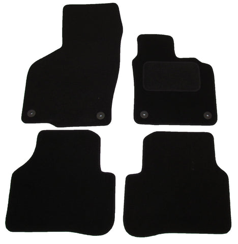 Exact Fit Tailored Car Mats VW Passat [Round Clips] (2007-2015)