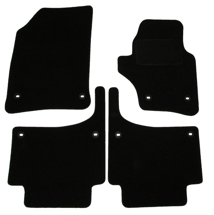 Exact Fit Tailored Car Mats VW Touareg [Oval Clips] (2003-2009)