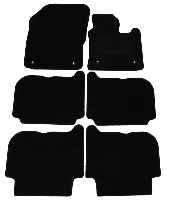 Exact Fit Tailored Car Mats VW Touran [Round clips] (2007-2010)
