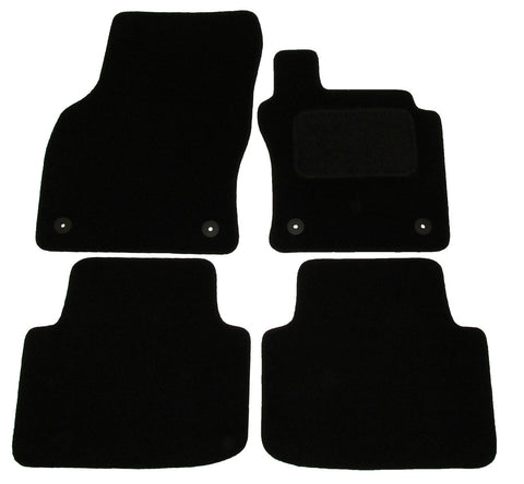 Exact Fit Tailored Car Mats VW Passat [With 4 Clips] (2015-Onwards)