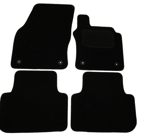Exact Fit Tailored Car Mats VW Golf mk8 [With 4 Clips] (2014-Onwards)