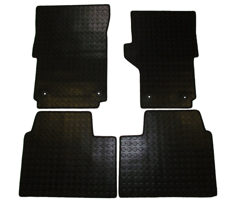 Exact Fit Rubber Tailored Car Mats VW Amarok (2012-Onwards)
