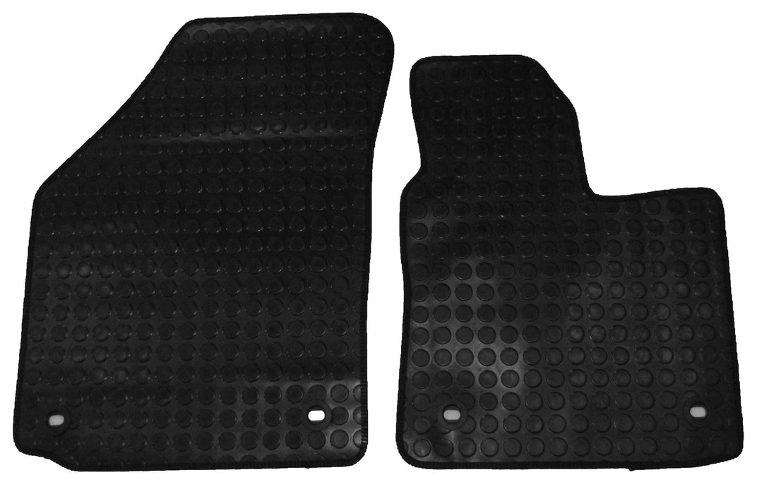 Exact Fit Rubber Tailored Car Mats VW Caddy (2004-Onwards)