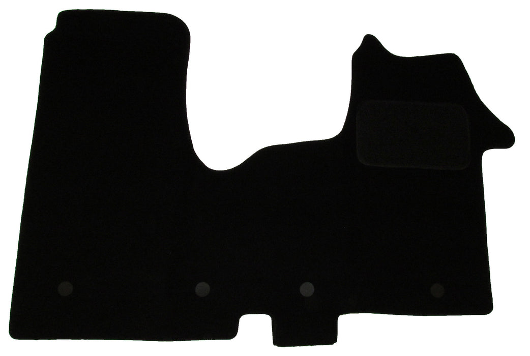 Exact Fit Tailored Car Mats Vauxhall Vivaro [With 4 Clips] (2014-Onwards)