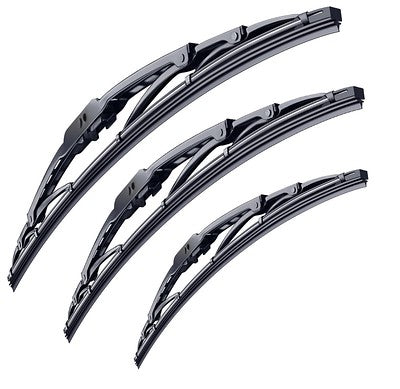 Volkswagen Caddy Mk2 2 Rear Doors Van 1996-2004 Xtremeauto® Front/Rear Window Windscreen Replacement Wiper Blades