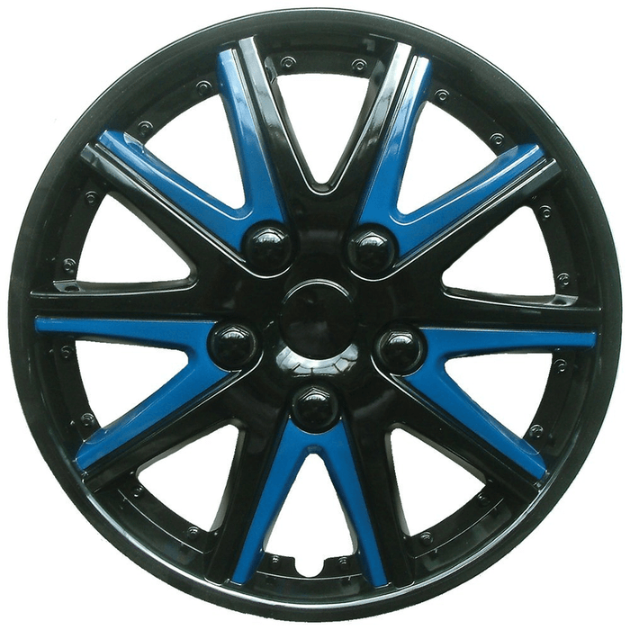 Alfa Romeo 145 Black Blue Wheel Trims Covers (1994-2001) - Xtremeautoaccessories