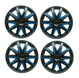 Chevrolet Cruze Black Blue Wheel Trims Covers (2000-2008)