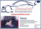 XtremeAuto® Universal Direct Fit Advanced Black Car Boot Liner Protector