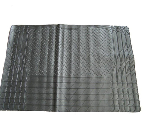 XtremeAuto® Universal Fit All - Black Rubber Non-Slip Car Boot Liner Mat