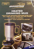 Heated 12v Travel Drinking Stainless Steel Mug For Car, Van Ideal for Cold Winter Mornings