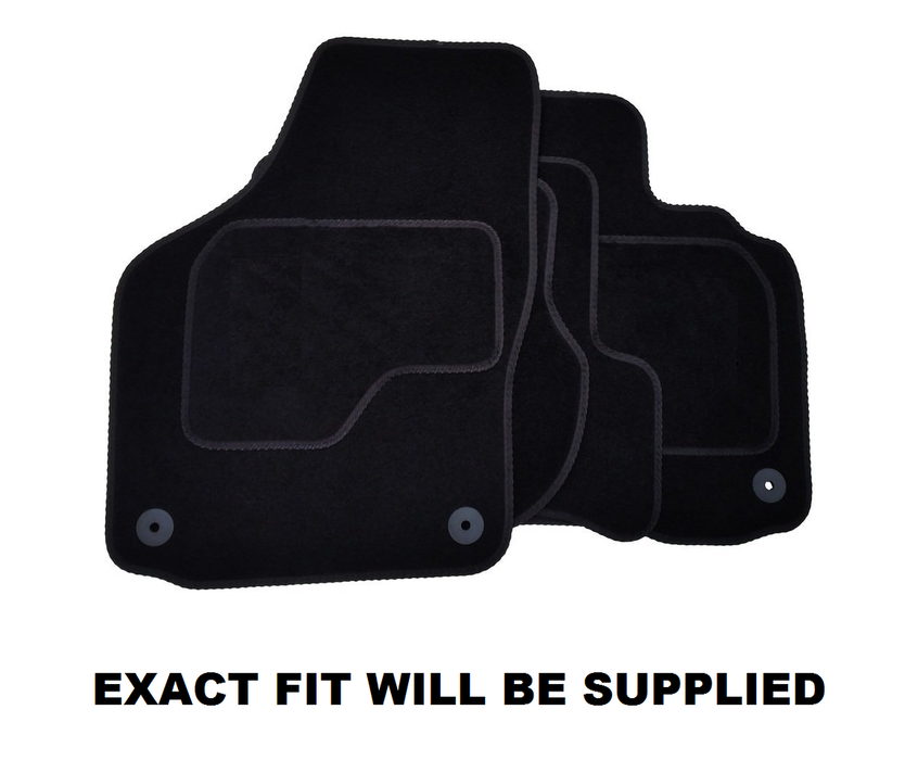 Exact Fit Tailored Car Mats Toyota Hi-Lux Double Cab (2011 Onwards)