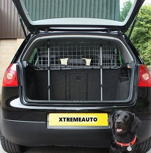XtremeAuto® Heavy Duty Durable Wire Mesh Dog Guard Pet Car Barrier Cage