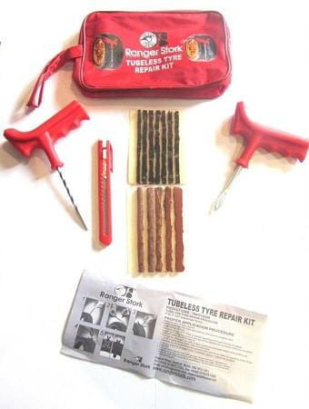 XtremeAuto Emergency Car, Van Tyre Tire Puncture Repair Kit With 10 Strips