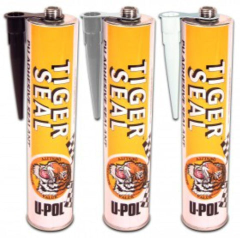 Upol Tiger Seal Adhesive Glue Black white or Grey