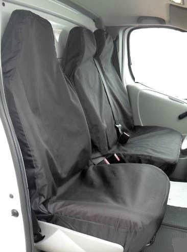 XtremeAuto Universal Black Heavy Duty Van Seat Cover Set