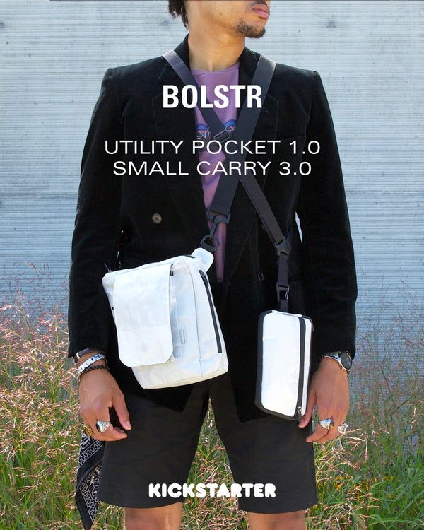 bolstr launches crowdfunding campaign for one-of-a-kind Utility Pocket in collaboration with Xhibition.