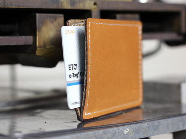 Slimmy X1S1: The Ultimate Slim (4mm)  Leather Wallet