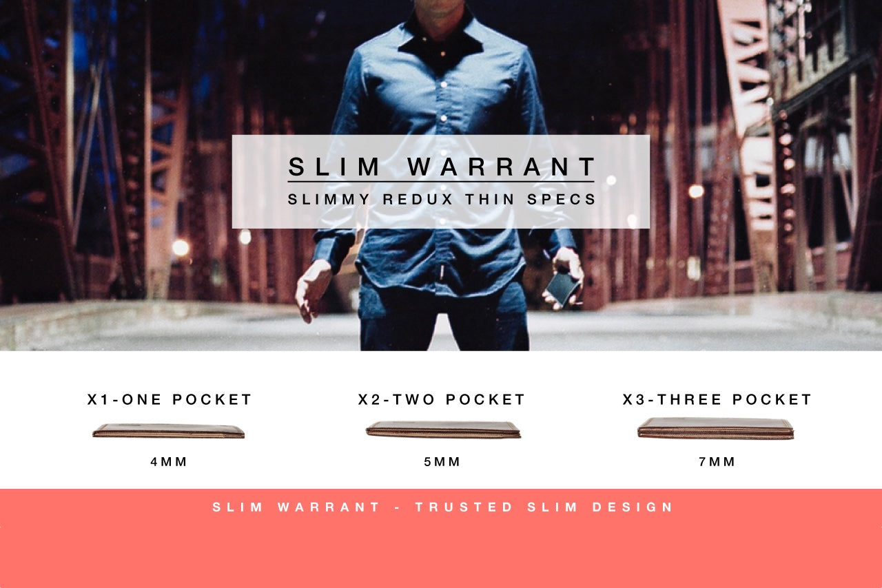 Slim Warrant: Trusted Slim Wallet Design