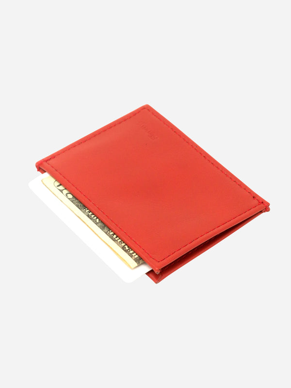 Slimmy OG X 1-Pocket Wallet (73mm) - Core Red - bolstr® - Pocket Research